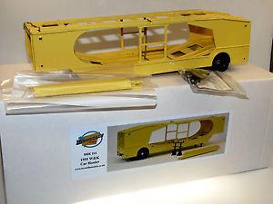 【送料無料】模型車 モデルカー スポーツカー モデルホーラカートランスポーターbrooklin models brk 214, 1955 wamp;k 4vehicle car hauler, autotransporter, 143