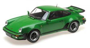 【送料無料】模型車 モデルカー スポーツカー ポルシェターボグリーンメタリックporsche 911 turbo green metallic 1977
