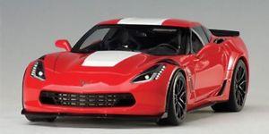【送料無料】模型車 モデルカー スポーツカー シボレーコルベットスポーツautoart chevrolet corvette c7 grand sport rotweiss 118 71274
