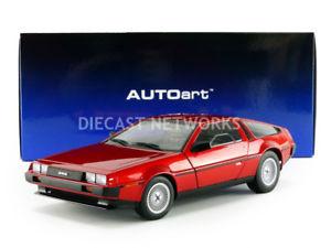 【送料無料】模型車 モデルカー スポーツカー ドautoart 118 dmc de lorean dmc12 79918