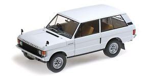 【送料無料】模型車 モデルカー スポーツカー レンジローバーリアルタイムrange rover 1970 white almost real 118 alm810102