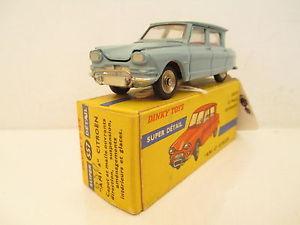 【送料無料】模型車 モデルカー スポーツカー シトロエンハブdinky 557 citroen 3cv ami6 mib 9 en boite rare large hubs grandes jantes lk