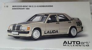 【送料無料】模型車 モデルカー スポーツカー メルセデスベンツニュルブルクリンク#ラウダ118 mercedes benz 190 e 2316 nrburgring 1984  18 lauda neu