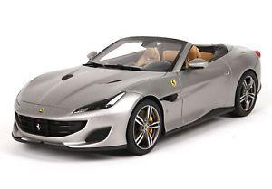 【送料無料】模型車 モデルカー スポーツカー フェラーリポルトフィーノferrari portofino griogio opaco 118 p18155f bbr