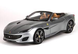 【送料無料】模型車 モデルカー スポーツカー フェラーリポルトフィーノグアテマラferrari portofino griogio titanio 118 p18155gt1 bbr