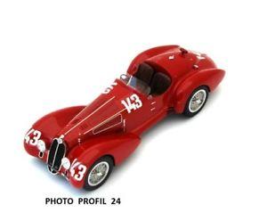 【送料無料】模型車 モデルカー スポーツカー アルファミッレミリア124  alfa 2900 b 1st mille miglia 1937