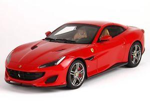 【送料無料】模型車 モデルカー スポーツカー ポルトフィーノフェラーリロッソコルサferrari portofino rosso corsa geschl dach 118 p18157e bbr