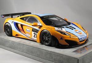 【送料無料】模型車 モデルカー スポーツカー マクラーレングアテマラ#ワットユナイテッドオートポートマカオテクノモデルmclaren 12c gt3 21 watts gulf united autosports macau gt 2011 tecnomodel 118