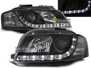 【送料無料】模型車 モデルカー スポーツカー ヌオーヴォアウディソナーnuovo fanali anteriori led drl look audi a3 8p 20032008 daylight neri sonar sv
