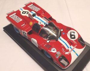 【送料無料】模型車 モデルカー スポーツカー モデルフェラーリユーロルマン#mg model 11806 ferrari 512 m 24 hrs le mans 1971 6 manfredini gagliardi 118