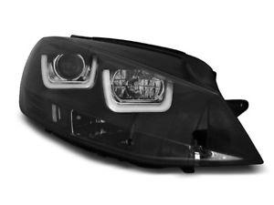【送料無料】模型車 モデルカー スポーツカー デイライトゴルフブラックヘッドライトneu scheinwerfer led mit tagfahrlicht fr vw golf 7 vii 12 schwarz sv lpvwk6er