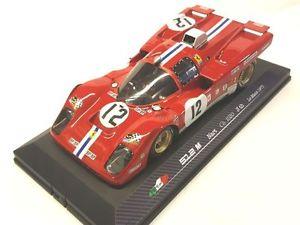 【送料無料】模型車 モデルカー スポーツカー モデルフェラーリルマンmg model rare11812 ferrari 512m le mans 1971 n12 adamowicz 118