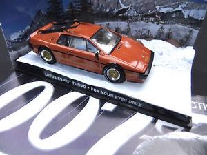 【送料無料】模型車 モデルカー スポーツカー ロータスエスプリターボジェームズボンドミッションlotus esprit turbo  007 james bond  143  in tdlicher mission