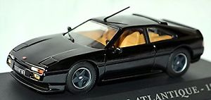 【送料無料】模型車 モデルカー スポーツカー アトランティッククーペブラック