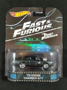 【送料無料】模型車 モデルカー スポーツカー ホットホイールレトロエンターテインメントhot wheels retro entertainment fast amp; the furious 70 dodge charger rt