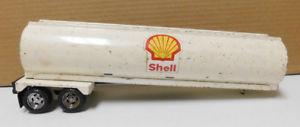 【送料無料】模型車 モデルカー スポーツカー ホワイトメタルシェルセミトレーラneues angebotvintage ertl white metal shell station semi trailer