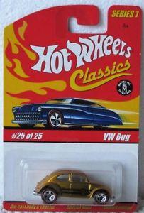 【送料無料】模型車 モデルカー スポーツカー ホットホイールフォルクスワーゲンフォルクスワーゲンビートルバグシリーズミントhot wheels classics vw bug limited edition volkswagen beetle series 1 mint