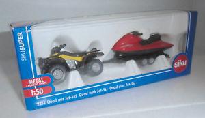 【送料無料】模型車 モデルカー スポーツカー ジェットスキーsiku 150 quad mit jetski, 2314 in ovp