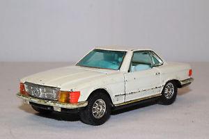 【送料無料】模型車 モデルカー スポーツカー コーギー#メルセデスベンツ1970s corgi 393 mercedes benz 350 sl, white, original