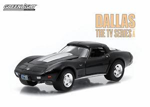 【送料無料】模型車 モデルカー スポーツカー グリーンライトシボレーコルベットダラステレビシリーズスケールgreenlight 1978 chevy corvette c3 from dallas tv series 164 scale