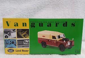 【送料無料】模型車 モデルカー スポーツカー ランドローバーvanguards va07602; landrover lwb ; british rail;