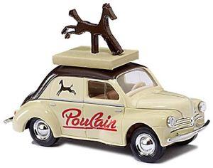 【送料無料】模型車 モデルカー モデルカー スポーツカー 4 スポーツカー ルノーbusch renault 4 cv poulain gelb, 高山市:198eb233 --- debyn.com