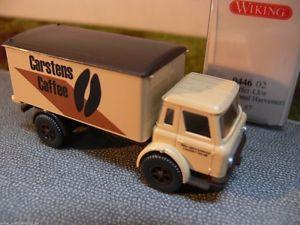 【送料無料】模型車 モデルカー スポーツカー ハーベスターカルステンス187 wiking international harvester carstens caffee kerlkw 0446 02