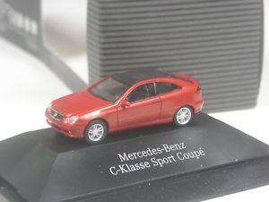 【送料無料】模型車 モデルカー スポーツカー トップモデルベンツクラススポーツクーペtop herpa sondermodell mercedes benz cklasse sport coup in pcovp