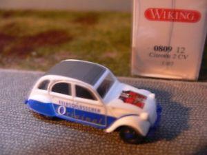 【送料無料】模型車 モデルカー スポーツカー シトロエンオリジナル187 wiking citroen 2 cv feldschlsschen original 0809 12
