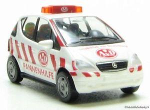 【送料無料】模型車 モデルカー スポーツカー メルセデスwiking 0780628 mercedes a 160 pannenhilfe adv sc 187