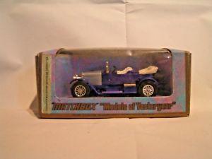 【送料無料】模型車 モデルカー スポーツカー ァーマッチボクソールプリンスアンリneues angebotmatchbox 147 vauxhall 1914 prince henri y2