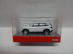 【送料無料】模型車 モデルカー スポーツカー ホワイトherpa 023696002 bmw x5 weiss 187 neu