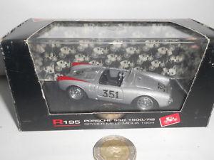 【送料無料】模型車 モデルカー スポーツカー ポルシェスパイダーミッレミリアスカラbrumm porsche 550 1500rs spyder mille miglia scala 143 170516