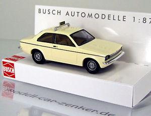 【送料無料】模型車 モデルカー スポーツカー ブッシュオペルタクシーベージュスケールbusch 42109 opel kadett c taxi beige scale 1 87 neu ovp