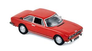 【送料無料】模型車 モデルカー スポーツカー プジョークーペレッドpeugeot coup 504 andalou red 1971 norev 187 475460