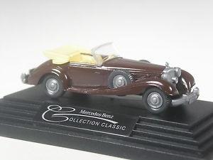 【送料無料】模型車 モデルカー スポーツカー クラスモデルメルセデスチョコレートブラウンklasse wiking werbemodell mercedes 540 k schokobraun in ovp