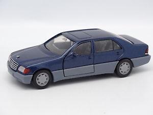 【送料無料】模型車 モデルカー スポーツカー メルセデスクラッセsiku sb 143 mercedes classe s 600 w140 bleue