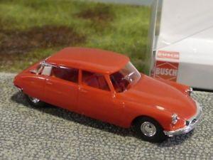 【送料無料】模型車 モデルカー スポーツカー 187 busch citroen ds 19 rot 48030
