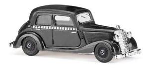 【送料無料】模型車 モデルカー スポーツカー ブッシュタクシーメルセデスbusch mercedes 170v taxi 41407