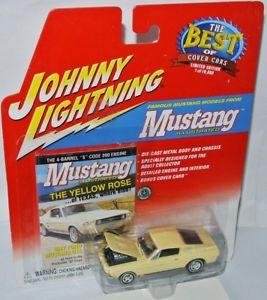 【送料無料】模型車 モデルカー スポーツカー ムスタングフォードムスタングジョニーmustang illustrated 1967 ford mustang gta yellow 164 johnny lightning