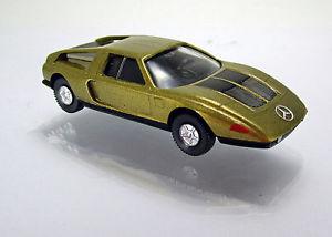 【送料無料】模型車 モデルカー スポーツカー メルセデスベンツゴールドメタリックスケールwiking 023001 mercedes benz c 111 gold metallic scale 1 87 neu ovp
