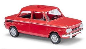 【送料無料】模型車 モデルカー スポーツカー ブッシュレッドbusch pkw nsu 1000 tt rot 48410