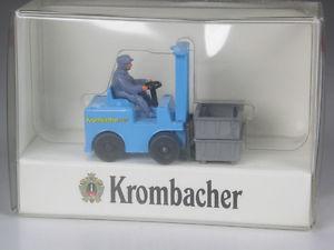 【送料無料】模型車 モデルカー スポーツカー トップヴァイキングモデルフォークリフトtop wiking werbemodell alter gabelstabler krombacher in ovp