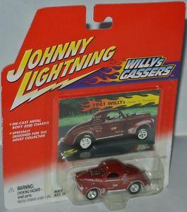 【送料無料】模型車 モデルカー スポーツカー ウィリージュニアトンプソンジョニーwillys gassers 1941 willys jr thompson 164 johnny lightning
