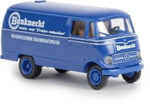 【送料無料】模型車 モデルカー スポーツカー メルセデスベンツボックスbrekina 36026 187 mercedesbenz l319 kasten bauknecht neu