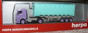 【送料無料】模型車 モデルカー スポーツカー m15 herpa 143073 iveco eurotech container sattelzug