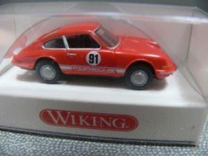 【送料無料】模型車 モデルカー スポーツカー ポルシェクーペ#レッド187 wiking porsche 911 coupe 91 rot 0160 02 b