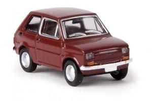 【送料無料】模型車 モデルカー スポーツカー フィアット187 brekina fiat 126 oxidrot 22364