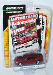 【送料無料】模型車 モデルカー スポーツカー エンターテイメントダッジチャージャーgreenlight entertainment 2006 dodge charger srt8  red 164