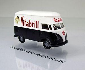 【送料無料】模型車 モデルカー スポーツカー フォルクスワーゲンフォルクスワーゲンブリルフランスコンパートメントボックススケールbrekina 32616 volkswagen vw groraum kasten t1b vitabrill frankreich scale 1 87